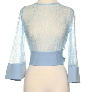 Tops - Lace Sheer Top NWT